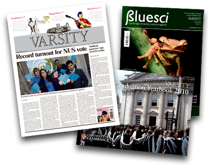 Publications produced by Varsity Publications